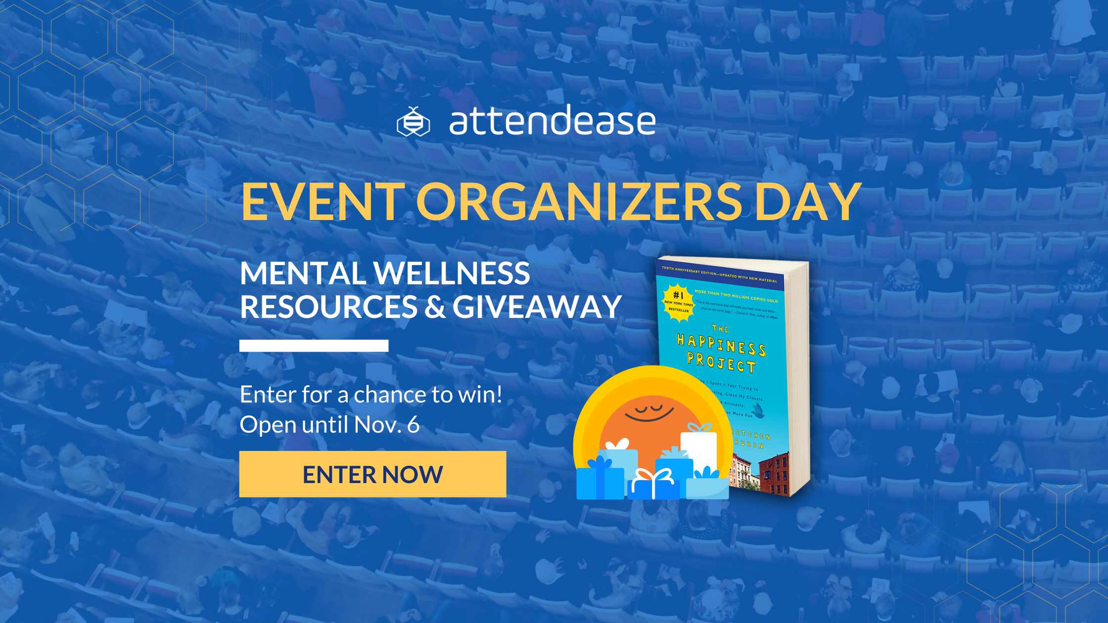 Event Organizers Day: Mental Wellness Resources and Giveaway