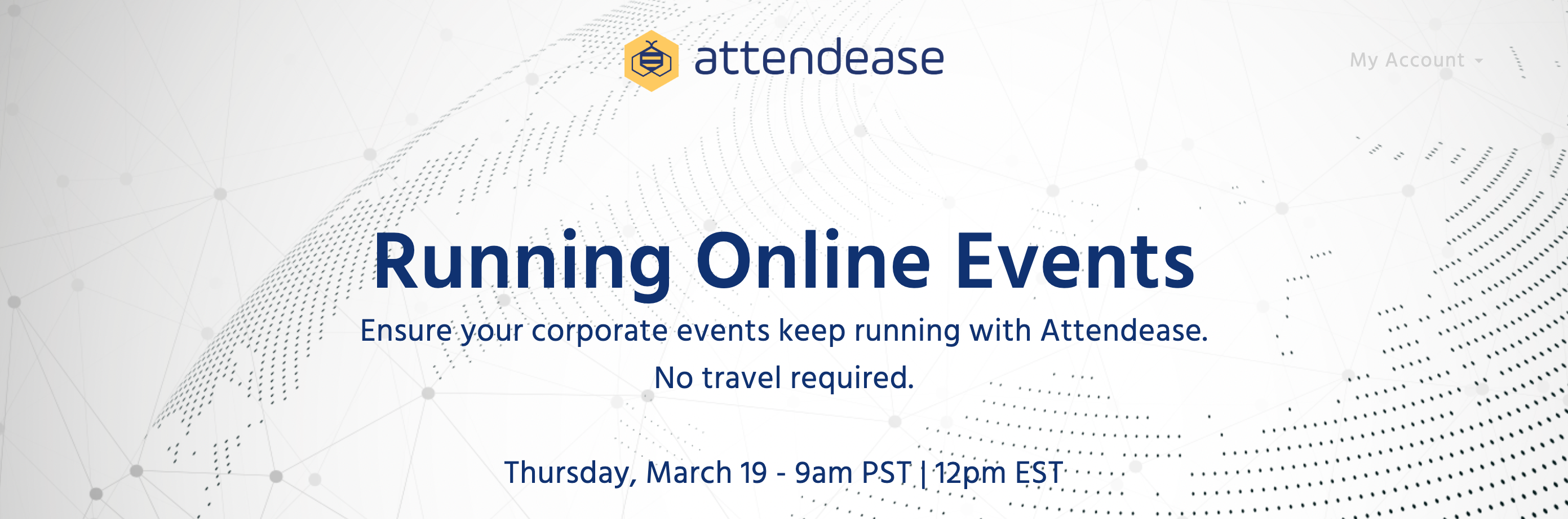 Webinar: Running Events Online [COVID-19 Update]